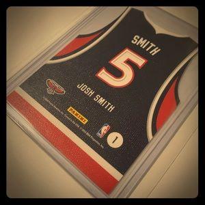 Josh Smith '10 Threads Diecut Away Jersey Card